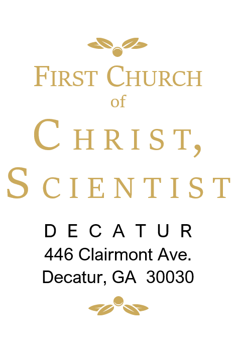 First Church of Christ, Scientist, Decatur, GA Logo